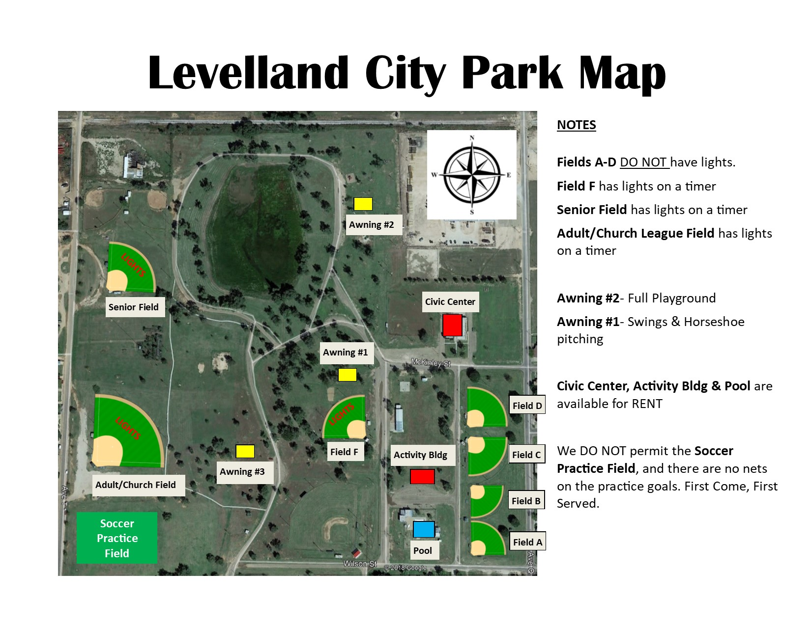 City Park Map updated 4-23-20